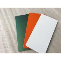 China Easy Installation Aluminum Sign Panels 4200mm Length With Polyester Paint wholesale