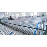 Buy cheap ASTM A53 GrB 4 Inch DN40x4mm thickness hot Dip Galvanized Round Steel Pipe/schedule 80 galvanized pipe/carbon steel pipe from wholesalers