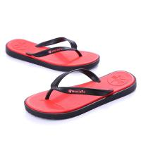 China Red Reef Contoured Cushion Flip Flop Wear Resistant OEM / ODM Accepted wholesale