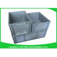 China Standard Plastic PP Industrial Storage Bins , Reusable Plastic Stacking Boxes wholesale