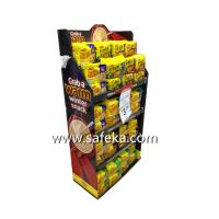 China Snacks POP Cardboard Display Stand in Store wholesale