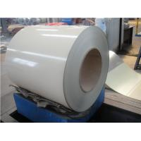 China 0 . 7MM RAL9001 white  Color Coated Aluminum Coil with PE applications wholesale