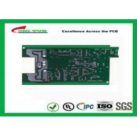 China Lead Free Single Sided PCB , One Layer PCB Board Surface Finish Hasl on sale