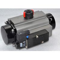 China Double Acting Aluminum Alloy Pneumatic Rotary Actuator With High Cycle Life wholesale