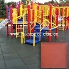 China Exterior gym / playground / swimming pool interlocking rubber tile dogbone crumb flooring wholesale