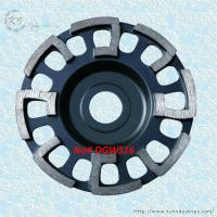 Wholesale J-shape Segment Cup Grinding Wheel - DGWS16 from china suppliers