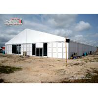 China White 30x100m Big Movable Outdoor Exhibition Tents with ABS Walling System wholesale