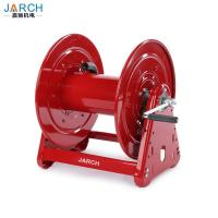 China Heavy Duty Hand Crank Retractable Water Hose Reel Steel Material 1000psi 200ft on sale