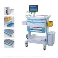 Buy cheap Emergency Medical Treatment Trolley Drug Delivery Cart With Optional Parts from wholesalers