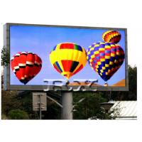 China Outdoor Video LED Display Screen P6 for Commercial Advertising Display on sale