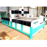 Quality WAMIT 2000*4000mm Abrasive Waterjet Cutter / Water Laser Cutting Machine for sale