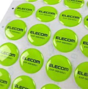 China Round Epoxy Stickers wholesale