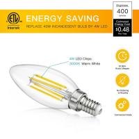 Quality E14 / E27 Edison Light Led Filament Bulb , Incandescent Globe Led Bulb for sale