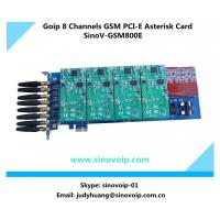 China 8 GSM Channels PCI Express Goip Asterisk Card wholesale