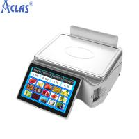 China Touch Screen Scale With High Quality,POS Scale,PC POS Scale,Cash Register Scale,Balance wholesale