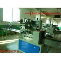 Quality candy flow pack machine with automatic revolving feeder for sale
