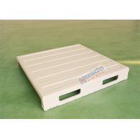 China Integral molded steel pallet for warehouse storage wholesale