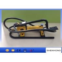 China CFP - 800 Hydrauic Foot Pump Used In Overhead Line Construction wholesale