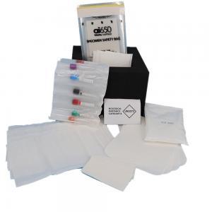 China A5 Flexo Printing 95kPa Specimen Transport Bag  Liquid Enclosure wholesale