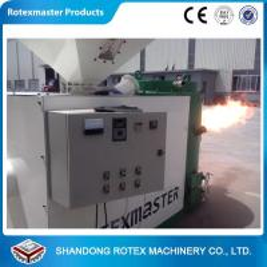 China YGF-30 0.75kw Biomass Pellet Burner / Wood Pellet Burning Machine wholesale