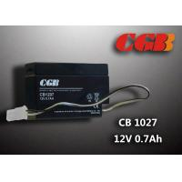 China CB1207 Rechargeable Sealed Lead Acid Battery 12 V 0.7Ah , AGM Electronic Battery wholesale