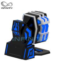 China Anti - Winding 1 Person VR Motion Simulator For Hotel , Museum , School wholesale