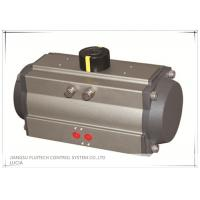 China Aluminum Material Rack And Pinion Pneumatic Actuator AT-DA63 For Industrial on sale