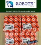 High Precision FAG 6208-2RSR Ball Bearings Single Row ABEC-4