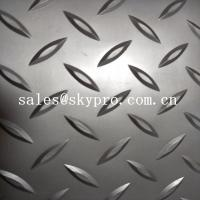 China Fireproof dot pattern Plastic Sheet grey PVC mat durable matt floor covering car floor mat wholesale