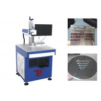 China Stainless Steel Tags Fiber Laser Marking Machine 100000 Hours Laser Lifespan wholesale