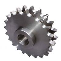 China Machined Double Pitch Sprocket For Industries Bad Condition Resistance wholesale