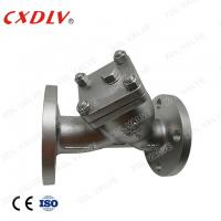 China DN50 JIS10K SCS13A Y Strainer Valve 40 Mesh SUS304 Spring Washers With Flange Connection wholesale