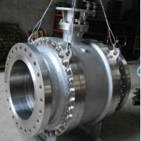 China Pneumatic Worm Gear Ball Valve , Metal Seated Ball Valves For High Temperature wholesale