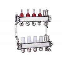 China Art 700 N+1G Square main tube hot water radiant floor heating separator for central heating installation on sale