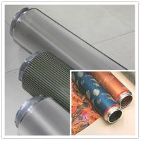 China Fabric Nickel Screen Accurate Textile Rotary Screen Printing 195M wholesale