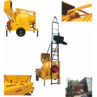 China Self-loading Concrete Mixer with Lifting Ladder JZC350 DHL on sale