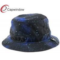China Young Fashionable Galaxy Printing Fisherman Bucket Hat with Cotton Fabric wholesale