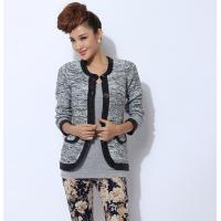China Anti-wrinkle Womens Wool Sweaters Cardigan Short Knit for winter wholesale