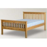 China Beautiful Pine Wood Frame Bed / Timber Frame Bed For Kids Standard Room wholesale