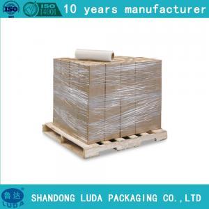 China 17 Micron Stretch Wrap,Plastic Stretch Film,Black Hand Pallet Shrink Wrap wholesale