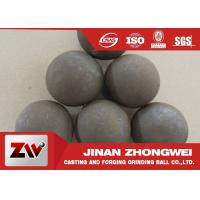 China 125mm Forged grinding media ball for ball mill with B3 B4 materials HRC 60-65 wholesale