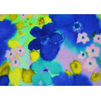 China 6OZ Beautiful Patterned Polyester Fabric Heat Transfer Printing For Shoes wholesale