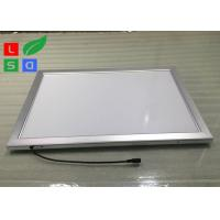 China Low Flickering LED Snap Frame Light Box 30mm Frame Width For Display Rack Top wholesale