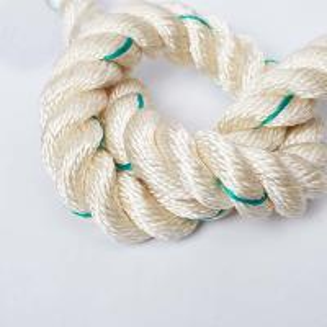 China Hawser Laid 3 Strand Polyester Rope 14mm , Polyamide 1 Inch 3 Strand Nylon Rope wholesale