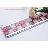 Buy cheap Instant Mosaic Tile Edge Trim With Aluminium Frame For Bathroom Border from wholesalers