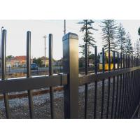 China High quality galvanized powder coated garrison fencing on sale