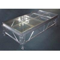 Quality Aluminium Glass Movable Stage Platform Fixed Rust Proof For Ceremony Stage for sale