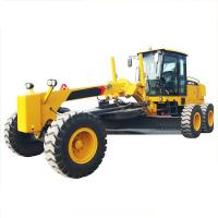 China Small Motor Graders , GR215 Blade Grader With Weichai Engine And Zf Gearbox on sale