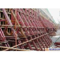 China Heavy Strength One Sided Concrete Formwork Waterproof Surface 8.9m Height  wholesale
