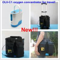 China Use in the car,use outside,1L mini portable oxygen concentrator with battery on sale
